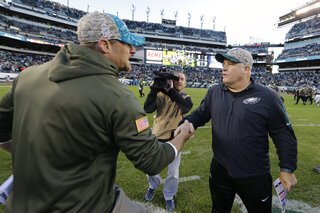 Chip Kelly, Dan Campbell