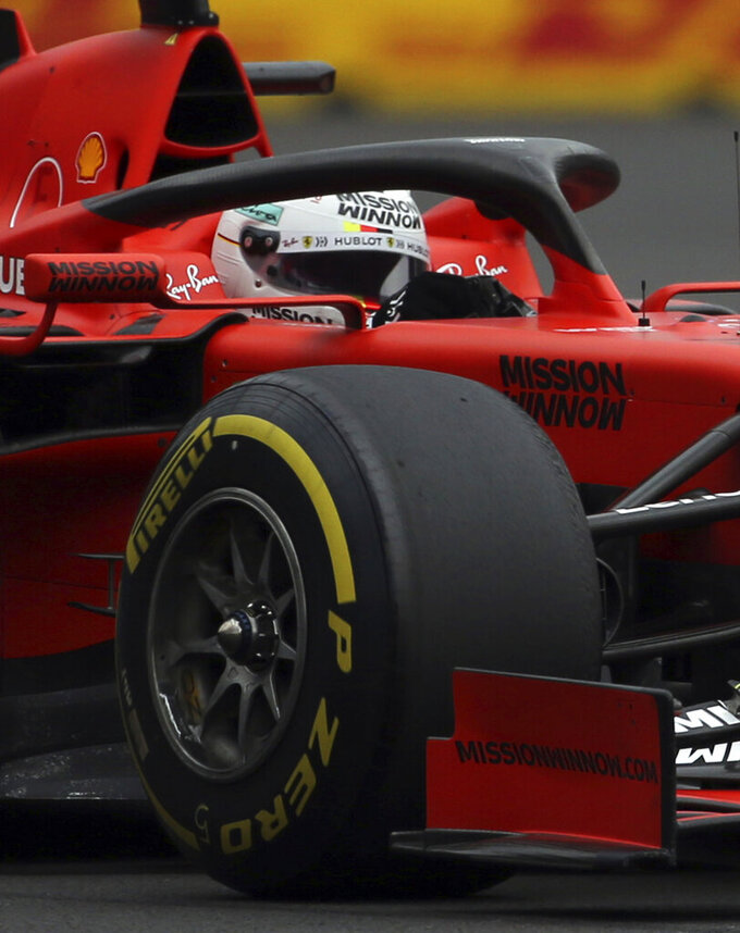 F1: Ferrari's Vettel leads the way at Mexican Grand Prix