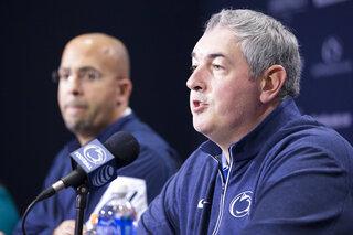 Penn State offensive coordinator Joe Moorhead