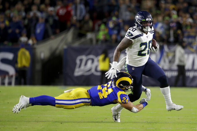 Seattle Seahawks at Los Angeles Rams 12/8/2019