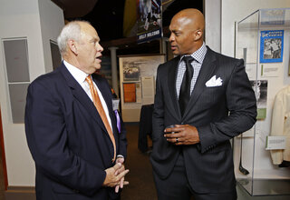 Eddie George, Phil Fulmer