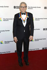 2019 Kennedy Center honoree Michael Tilson Thomas attends the 42nd Annual Kennedy Center Honors at The Kennedy Center, Sunday, Dec. 8, 2019, in Washington. (Photo by Greg Allen/Invision/AP)