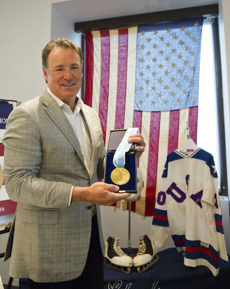 Miracle on Ice Jim Craig Auction Hockey