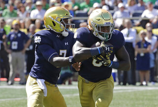 Brandon Wimbush, Tony Jones Jr.