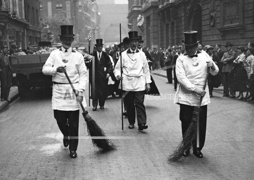 England Sweeping Away the Plague