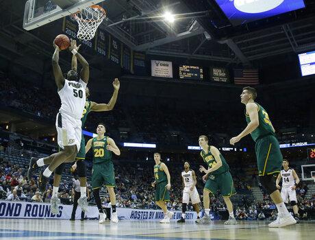 NCAA Vermont Purdue Basketball