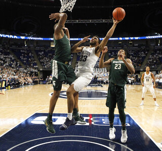 Michigan St Penn St Basketball