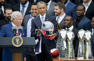 Barack Obama, Robert Kraft