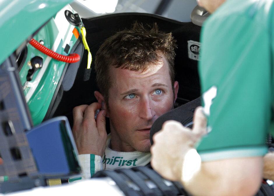 NASCAR Brickyard Kahne Out Auto Racing