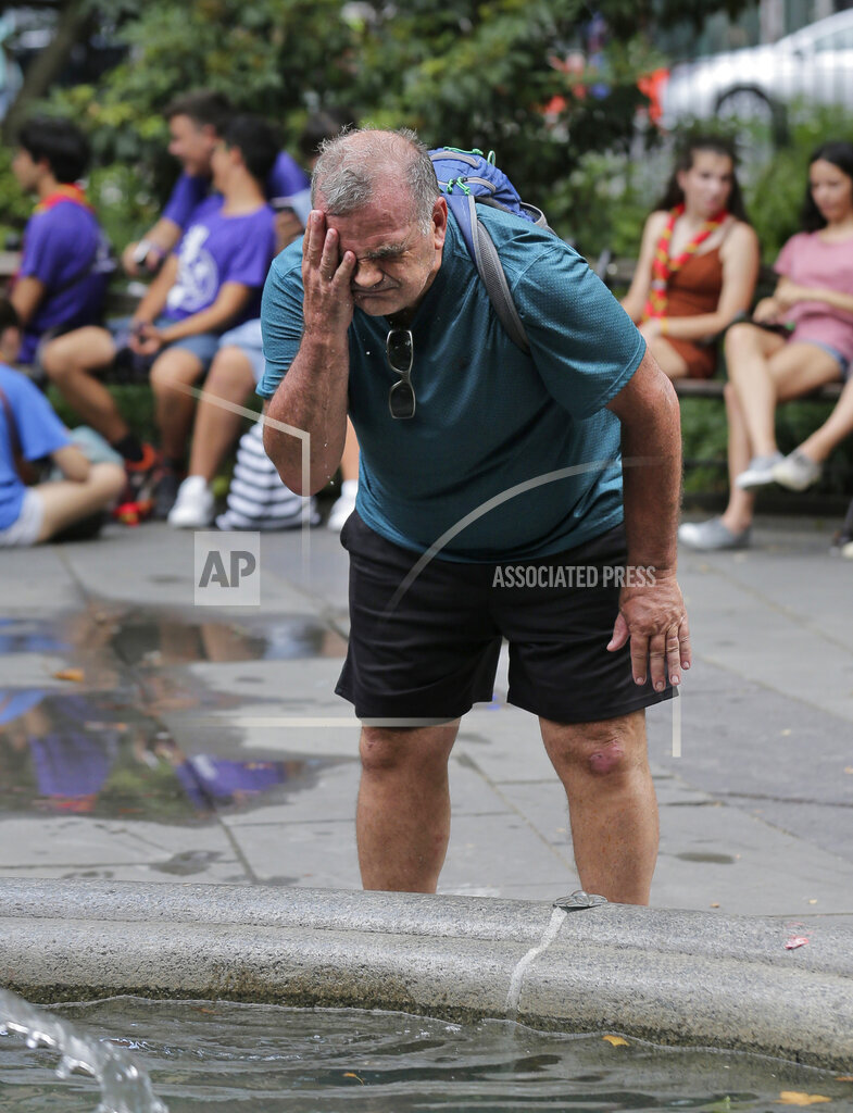 US Weather Heat Wave