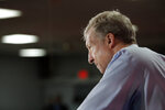 Democratic presidential candidate and businessman Tom Steyer listens to a question during an event at a Culinary Workers Union hall Thursday, Jan. 16, 2020, in Las Vegas. (AP Photo/John Locher)