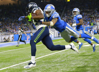 Seahawks Lions Football
