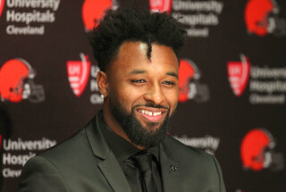 Browns Landry Football
