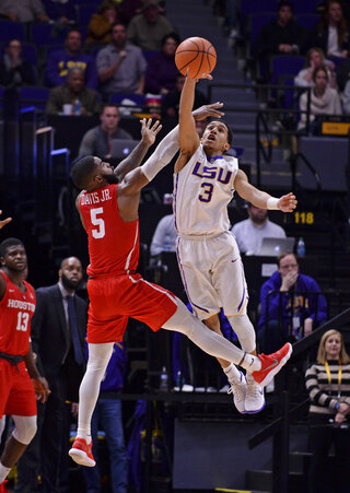LSU Houston Basketball