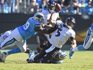 APTOPIX Ravens Panthers Football