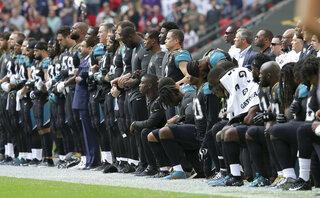 Jaguars Anthem Apology Football