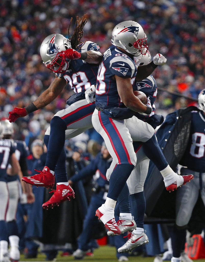 James White, Brandon Bolden