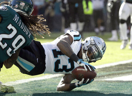 Panthers Eagles Football