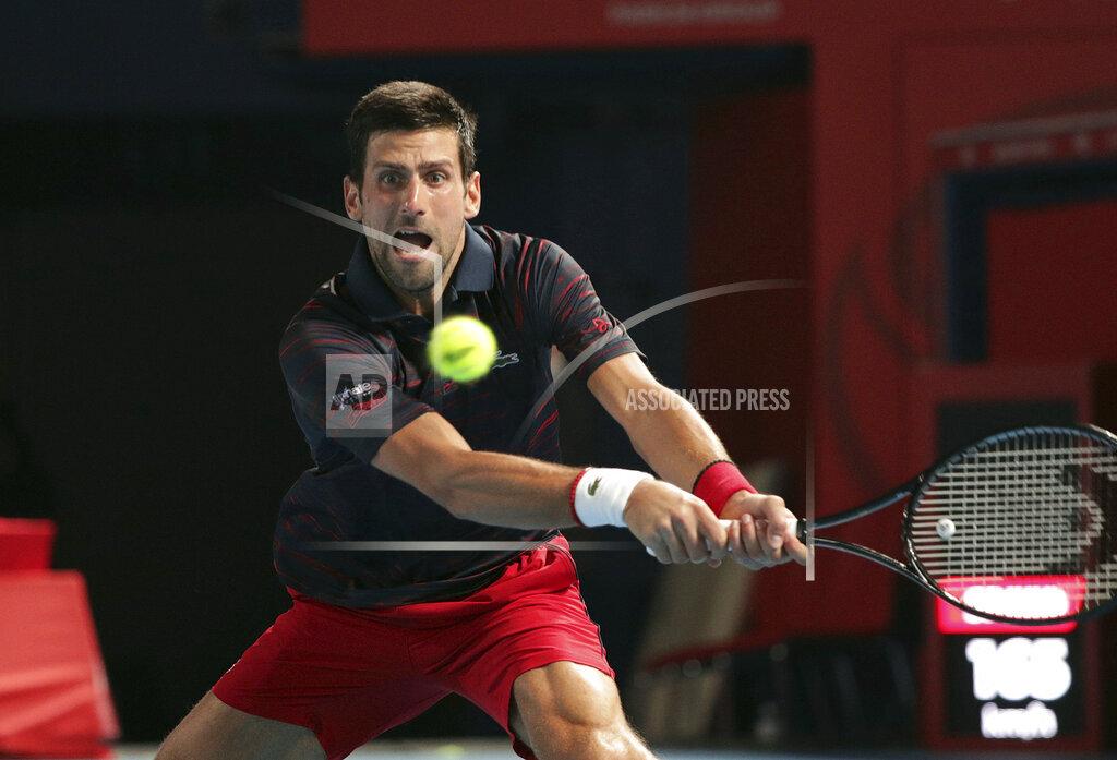 Rakuten Open Tennis/ Djokovic vs Popyrin