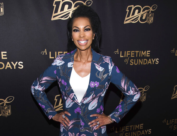 """FILE - Harris Faulkner attends a screening of """"A Lifetime of Sundays"""" at The Paley Center for Media in New York on  Sept. 18, 2019.  Faulkner will host a special on America's racial reckoning on Sunday at 10 p.m. Eastern. (Photo by Charles Sykes/Invision/AP, File)"""