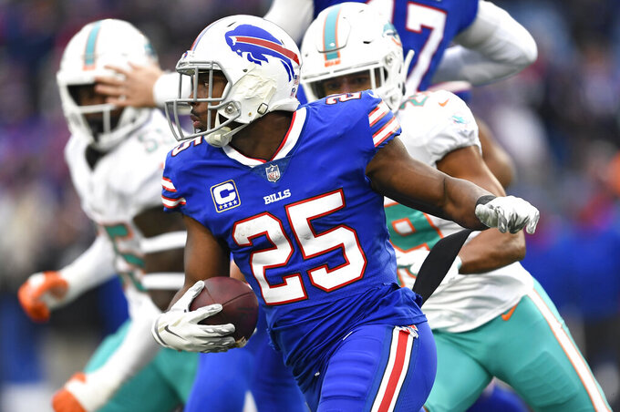 Gore looks forward to sharing Bills backfield with McCoy