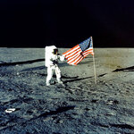 FILE - In this Nov. 1969 photo made available by NASA, Apollo 12 mission Commander Charles P.