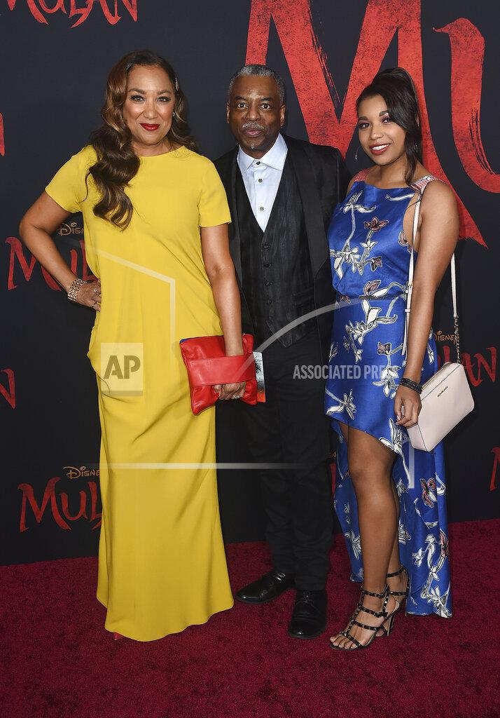 "Los Angeles Premiere of ""Mulan"" - Arrivals"