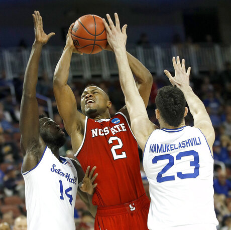 NCAA NC State Seton Hall Basketball