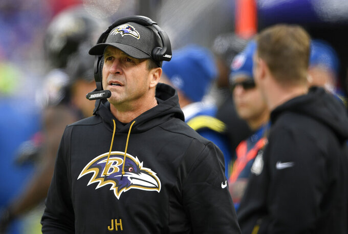 Ravens coach John Harbaugh gets new 4-year deal