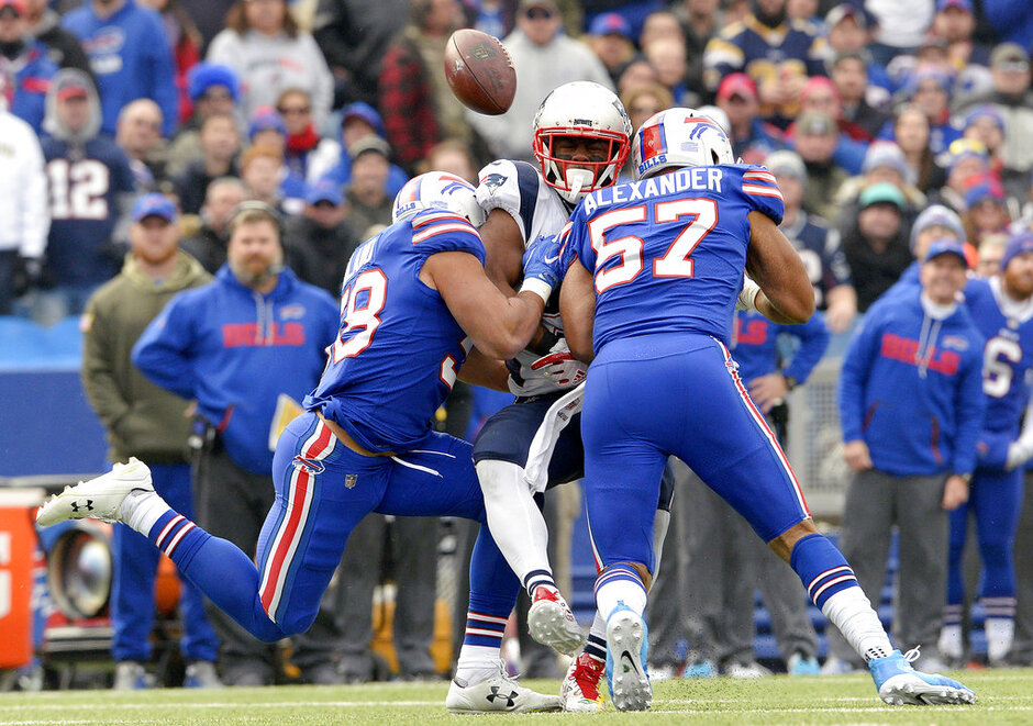 Bills Revamped Secondary Football
