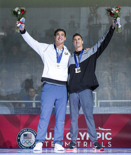 Nathan Adrian, Anthony Ervin