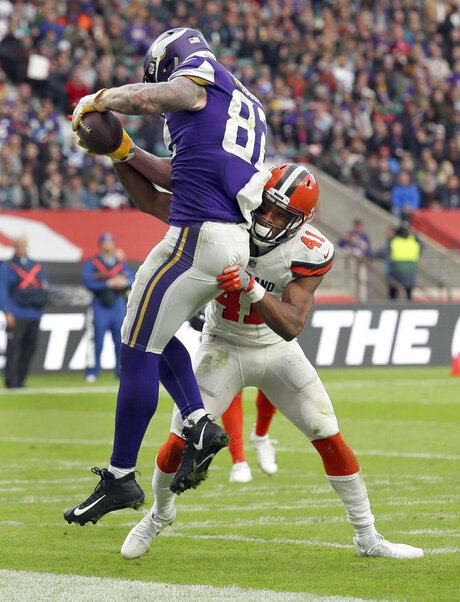 Vikings Browns Football
