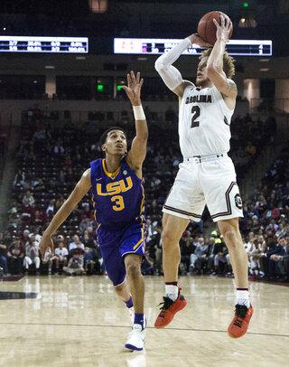 LSU South Carolina Basketball