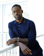 FILE - Actor Sterling K. Brown, a cast member in the NBC series