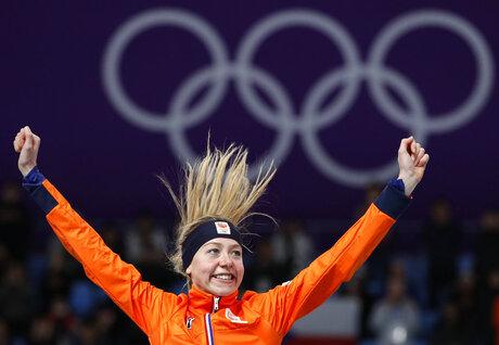 APTOPIX Pyeongchang Olympics Speed Skating Women