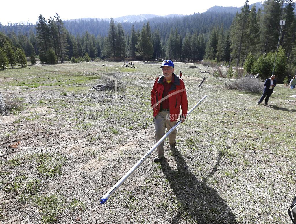 California Drought Dismal Snowpack