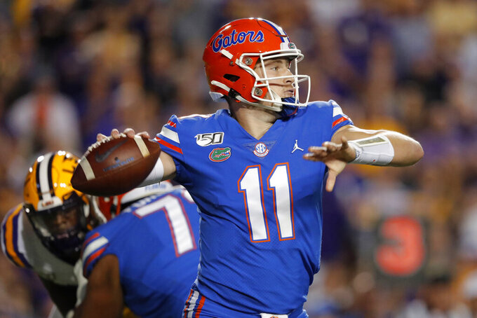 No. 9 Florida looks to bounce back at South Carolina