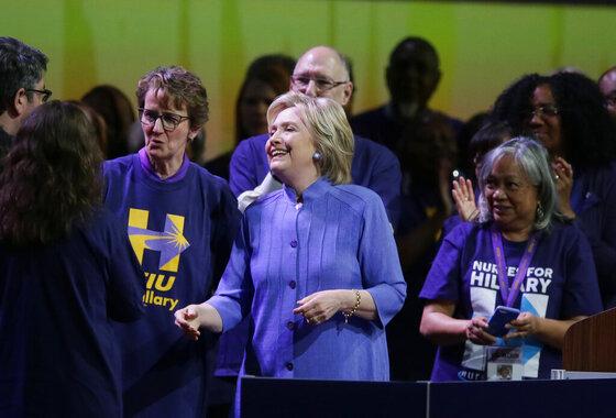 Hillary Clinton, Mary Kay Henry