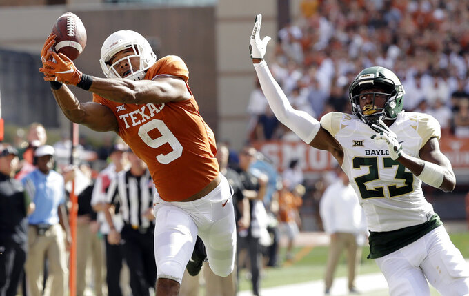 Baylor at Texas 10/13/2018