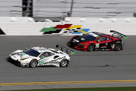 IMSA Rolex 24 Auto Racing