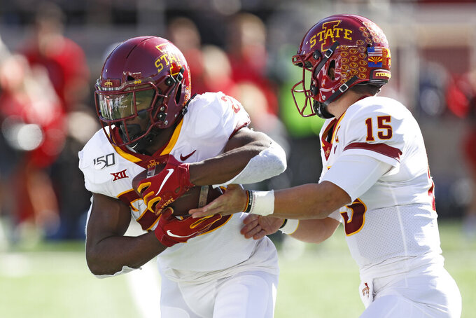 No. 23 Iowa State seeks 4th straight win vs. scuffling Pokes