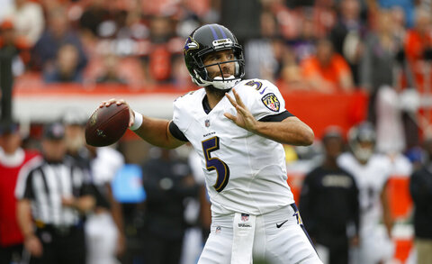 Ravens Broncos Trade Football