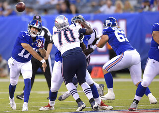Patriots Giants Football