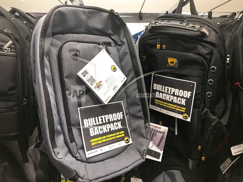 Bullet-resistant Backpacks