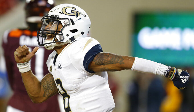 Georgia Tech QB TaQuon Marshall to start at North Carolina
