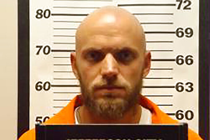 This undated photo provided by the Missouri Department of Corrections shows Michael Politte. Attorneys for Missouri inmate Michael Politte are asking the Missouri Supreme Court to free him from prison, claiming he is innocent in the 1998 killing of his mother. Politte was just 14 at the time of Rita Politte's death. His attorneys say he was convicted on now disproven evidence and a rush to judgment by investigators. (Missouri Department of Corrections via AP)