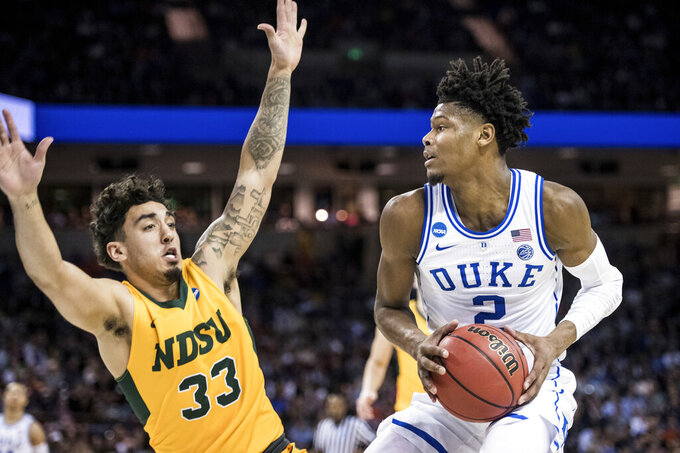 Duke's Reddish a game-time decision vs. Michigan State
