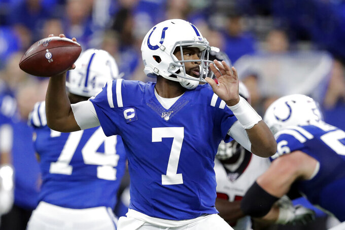 Brissett making smooth transition as Colts' starting QB