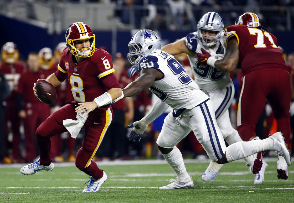 Kirk Cousins, DeMarcus Lawrence