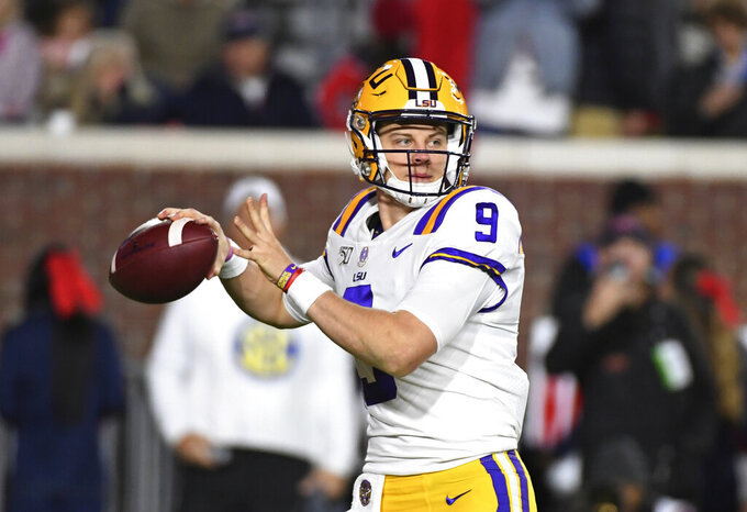 No. 1 LSU has sights set on SEC West title vs Arkansas